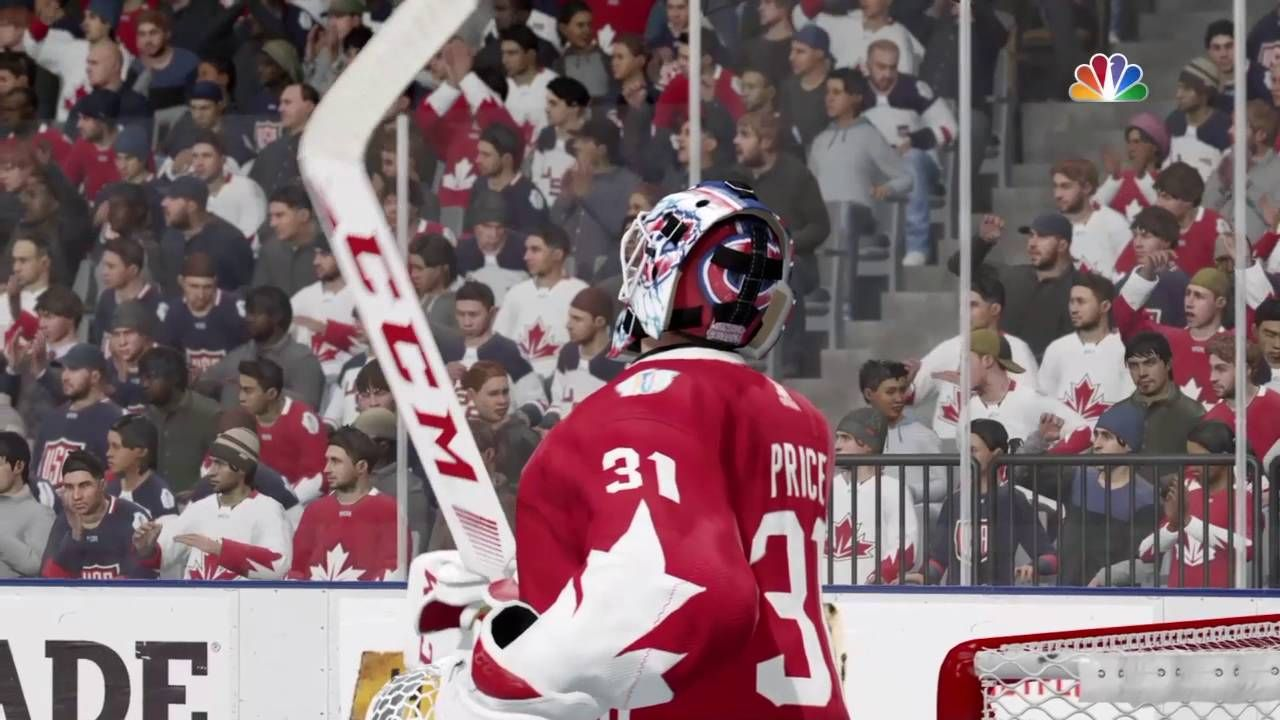 NHL 17 FULL GAME Team USA vs Team CANADA HD PS4 GAMEPLAY
