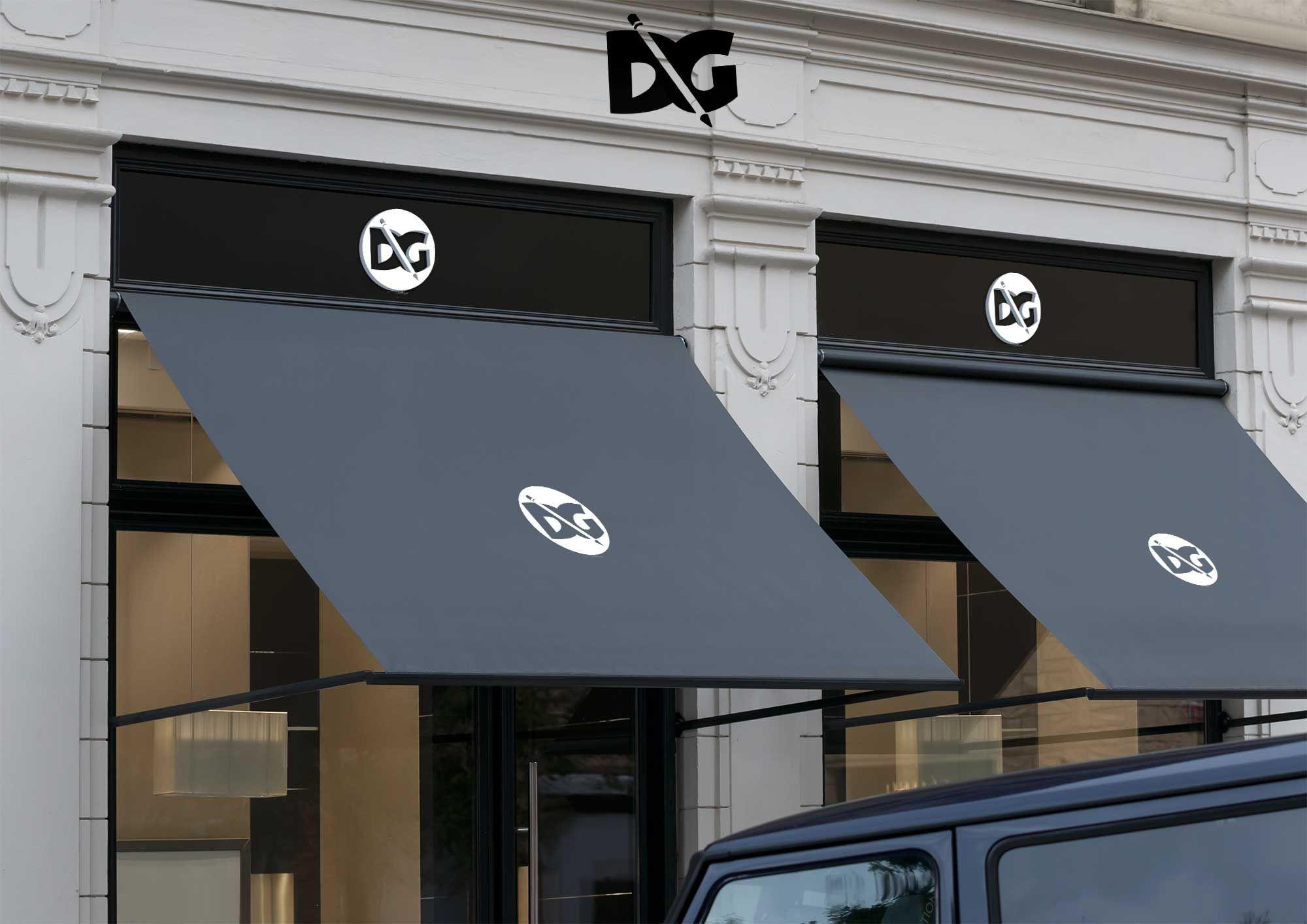Shop Wall Logo mockup in 2020 Mockup free download, Logo