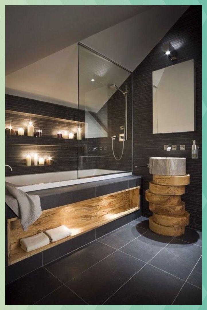 42 Badezimmer Ideen Und Designs Fur Auszeit Liebhaber In 2020 Bathroom Design Small Modern Modern Small Bathrooms Bathroom Design