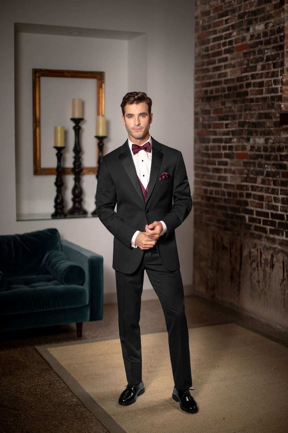 Pin by toni cadwallader on Tux Rentals Groom suit black
