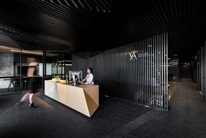 Key drivers involved creating a sense of arrival and an instant immersion into the space, with the design encouraging transparency from reception through to workspaces.