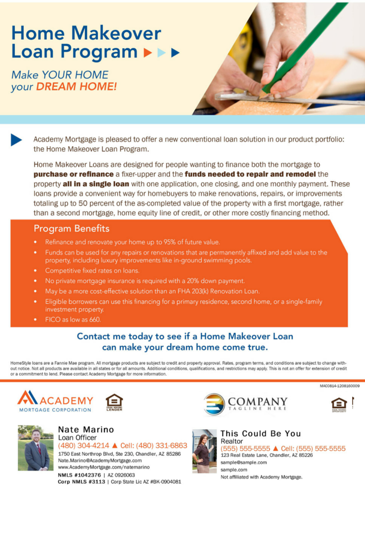 A Great Alternative For Those Wanting To Buy Or Refinance A Fixerupper Academy S Fha 2 Home Renovation Loan Home Improvement Financing Home Improvement Loans