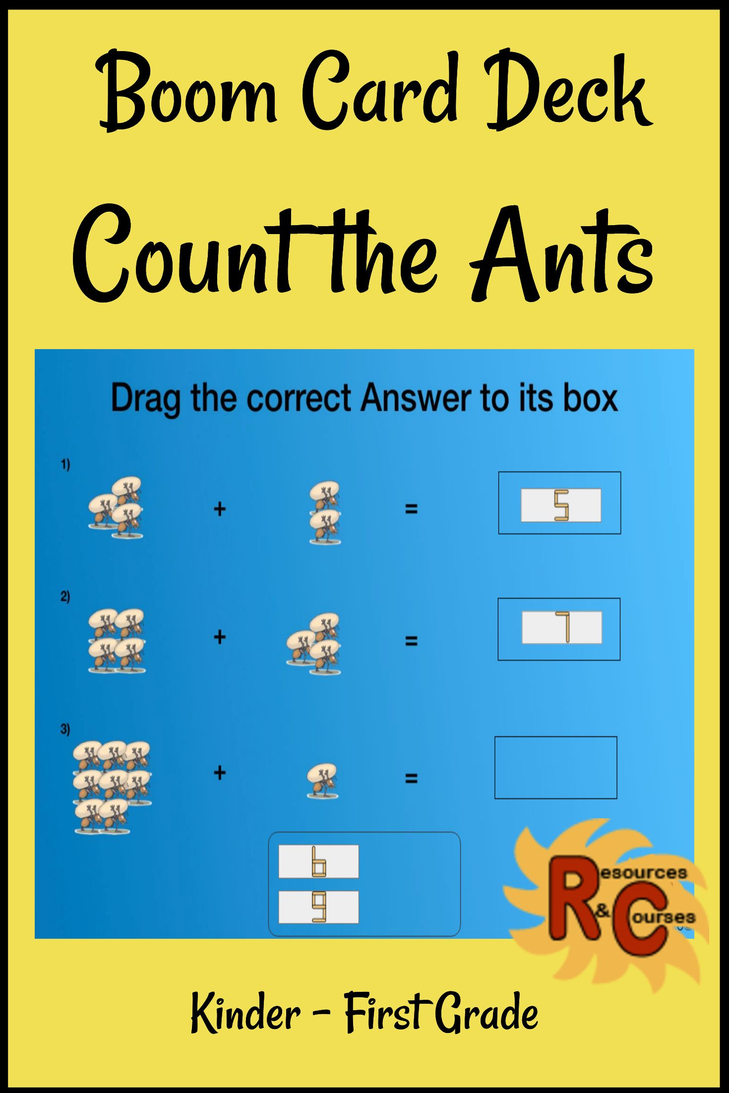 Your Students Will Love These Counting Addition Worksheets