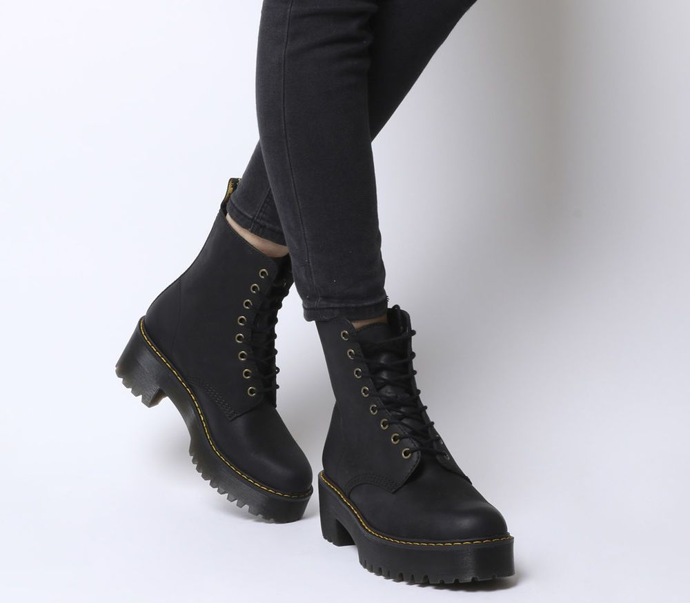 buy online cd3f3 ae654 Womens Dr. Martens Shriver Hi Lace Boots Black Boots | shoes ...