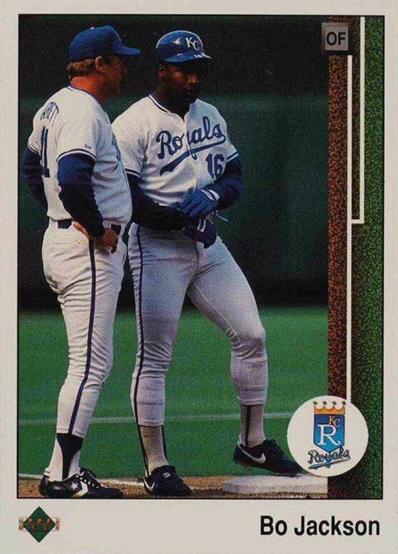 1989 Upper Deck 221 Bo Jackson Baseball Card in 2020