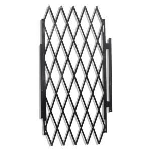 Security Expandable Gate Black 90002 At The Home Depot