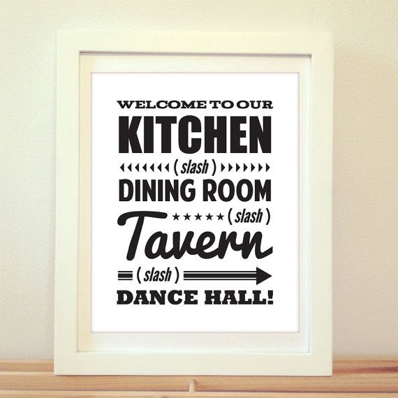 Hey, I found this really awesome Etsy listing at https://www.etsy.com/listing/187503278/welcome-to-our-kitchen-dining-room