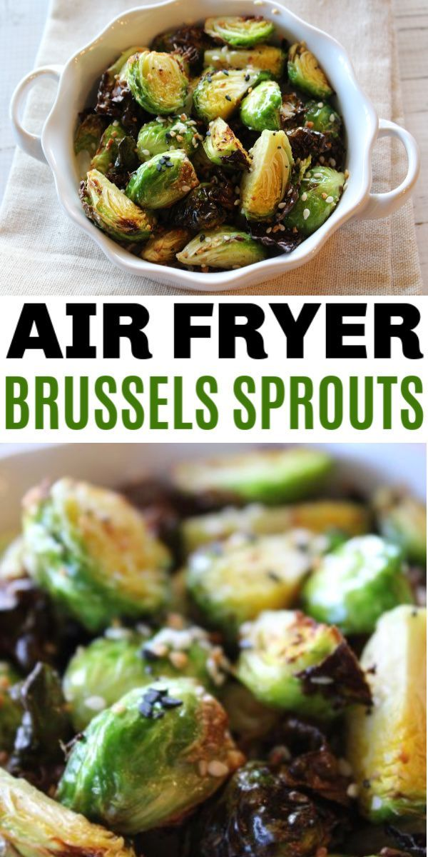 Brussel Sprout Recipes Roasted Air Fryer