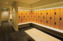 Efficient Locker Room Design Maximizes Use of Small Spaces ...