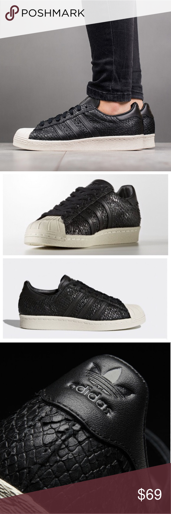 Adidas superstar, Snake leather