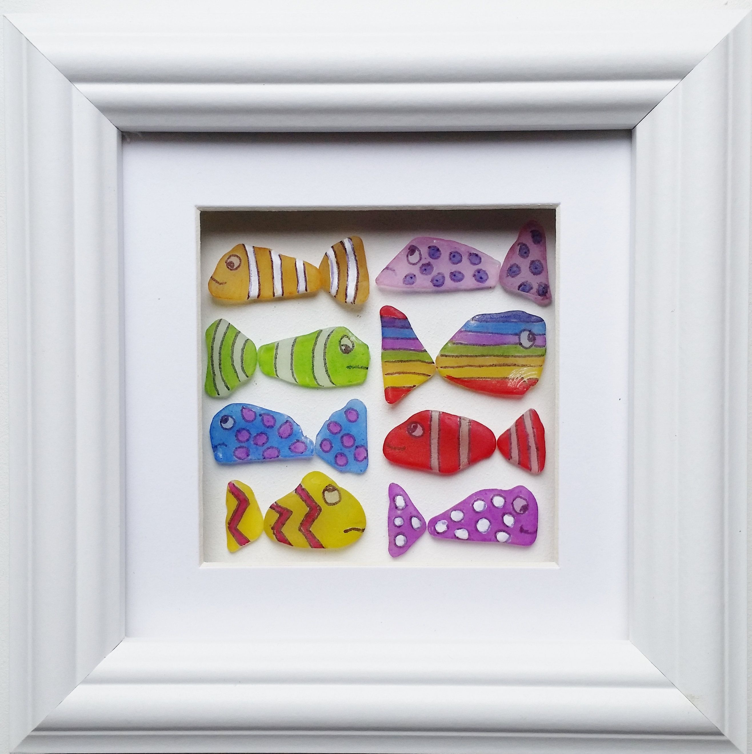 Sea Glass Art, SeaGlass Fish, Quirky Gifts, Unusual Home ...