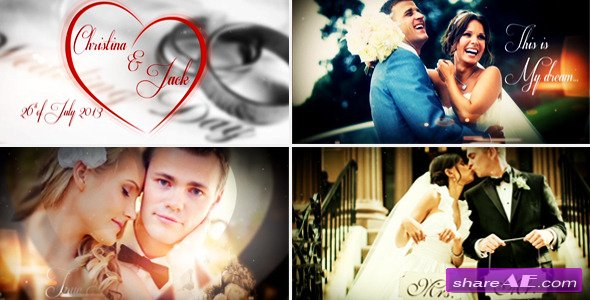 Wedding Story Album After Effects Project (Videohive) in