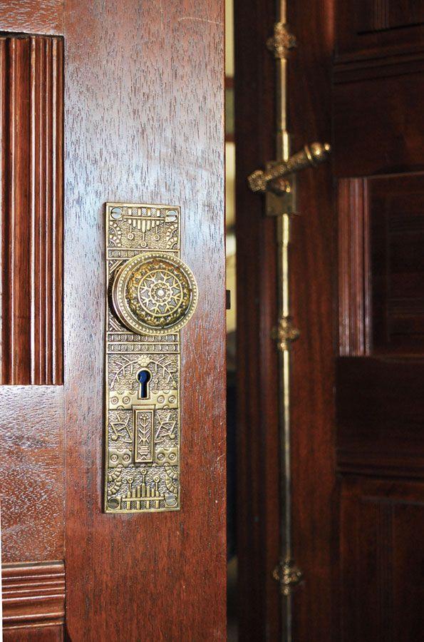 Solid Brass Windsor Door Hardware unique full door brass cremone bolt. & Solid Brass Windsor Door Hardware unique full door brass cremone ...
