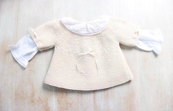 Baby Bra / explicaciones de tejer en inglés / por LittleFrenchKnits ...