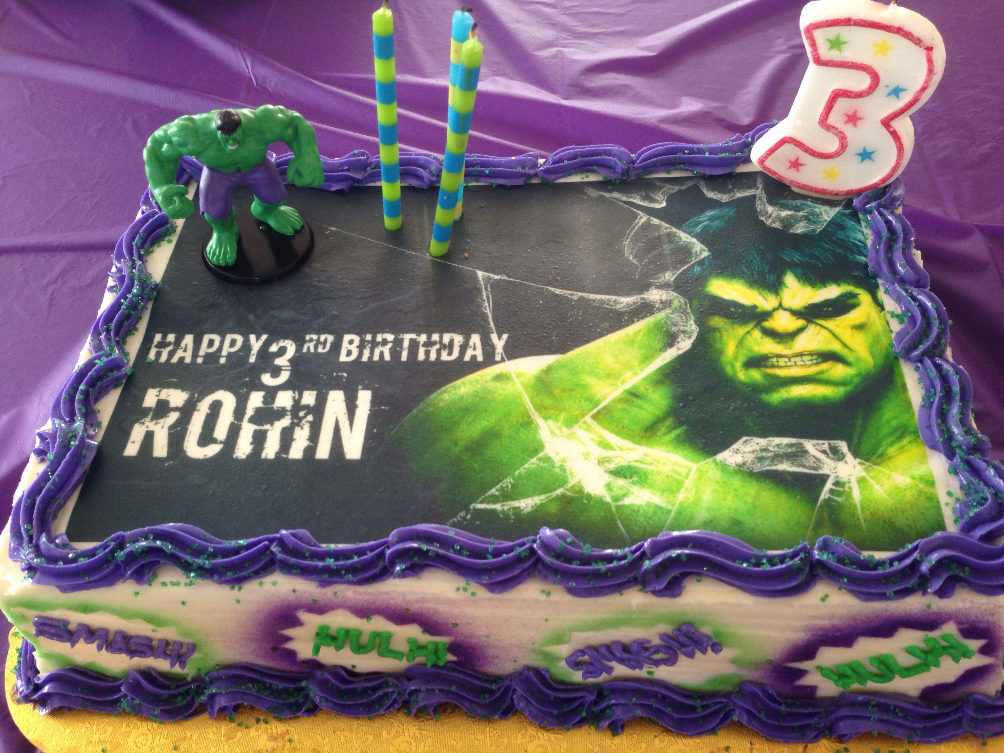 Hulk Birthday Cake Artsy Fartsy Pinterest Hulk Birthday Hulk