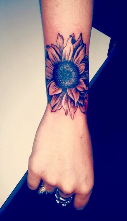 Photo of couverture de poignet de tournesol de tatouage jusqu'à 17+ idées
