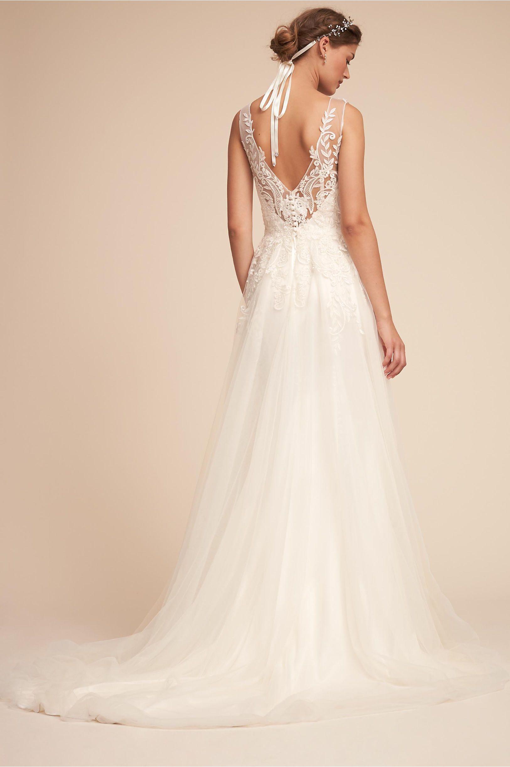 BHLDN Madrick Gown Ivory in Bride   BHLDN   Bhldn   Pinterest ...