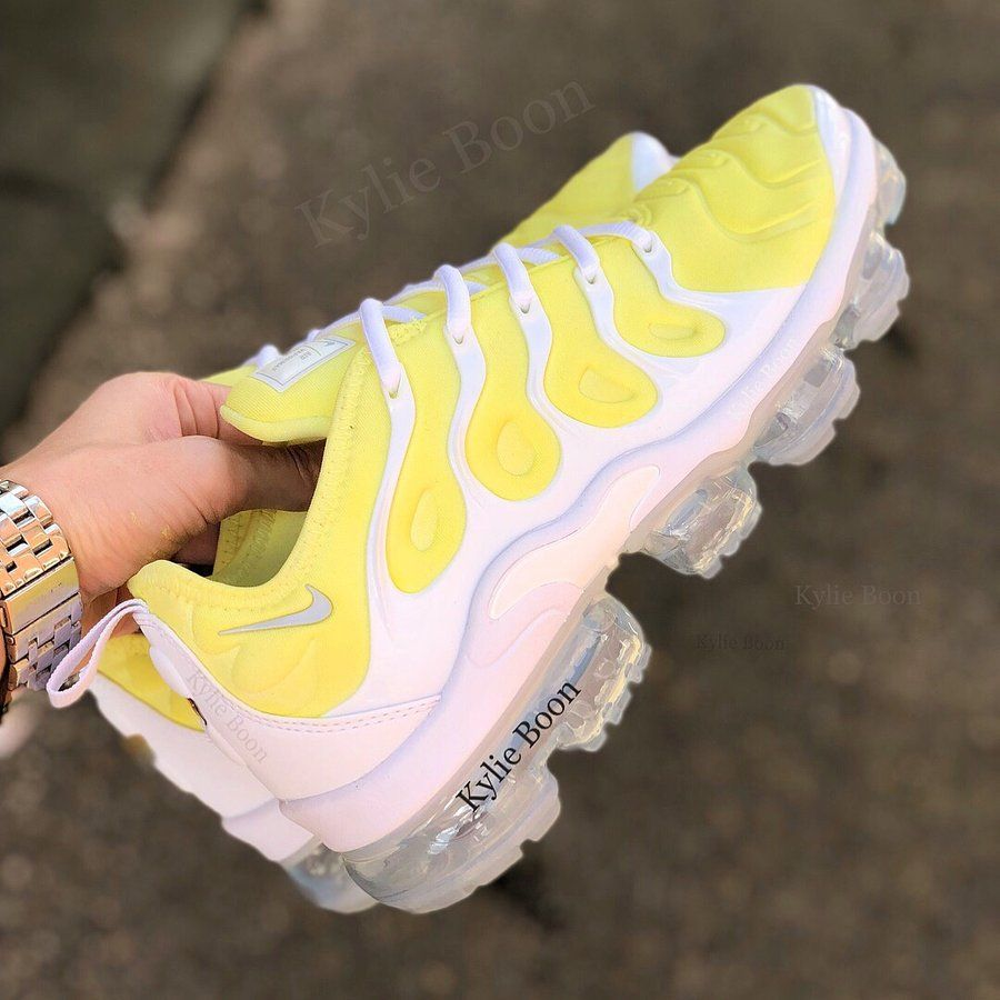 more photos 39c42 3c67e Image of BANANA SPLIT Nike Vapormax plus | føõtwėär in 2019 ...