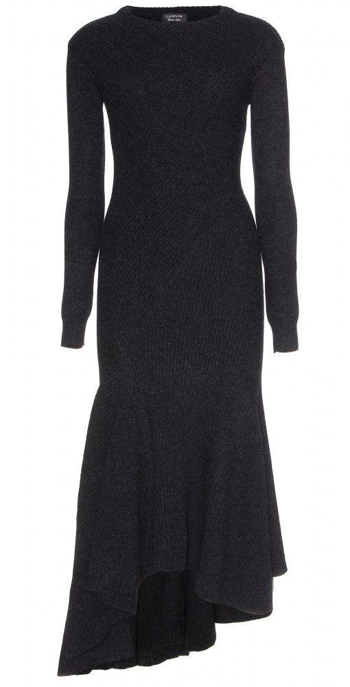 assymetric wool dress <3