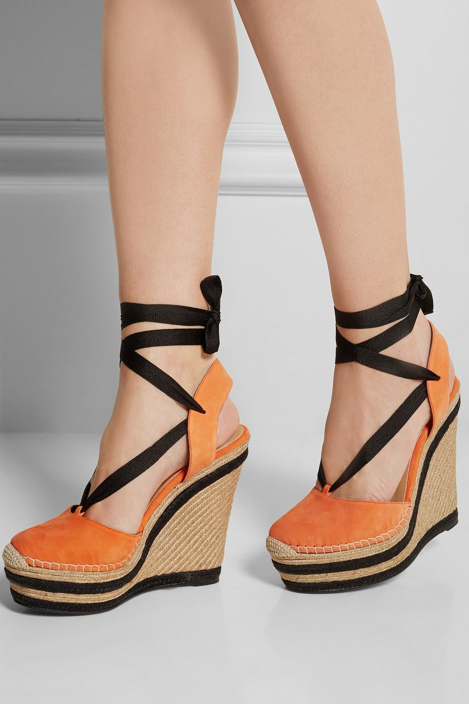 Gucci Suede Wedge Espadrilles NETAPORTERCOM Shoes - Making an invoice in word gucci outlet store online