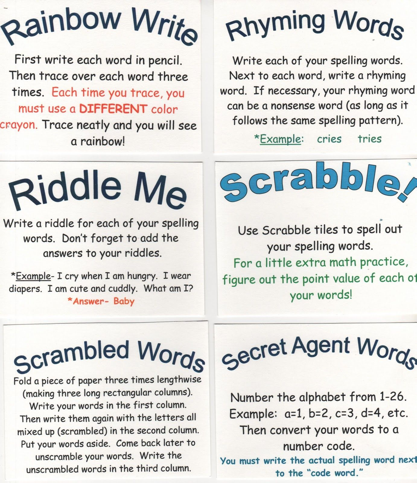 worksheet Rainbow Spelling Worksheet click to see my favorite spelling site these ideas can be used in class or