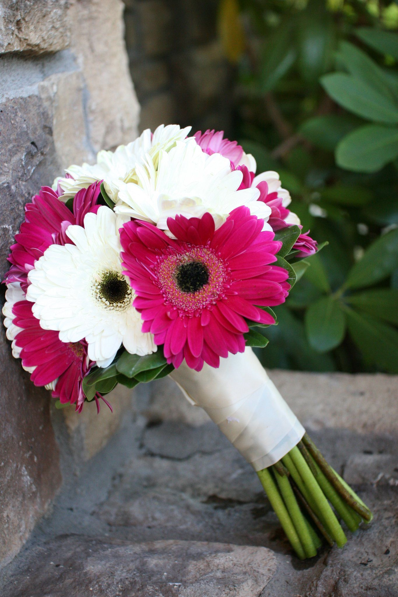 Gerbera Daisy Bouquet Wedding Satisfying More