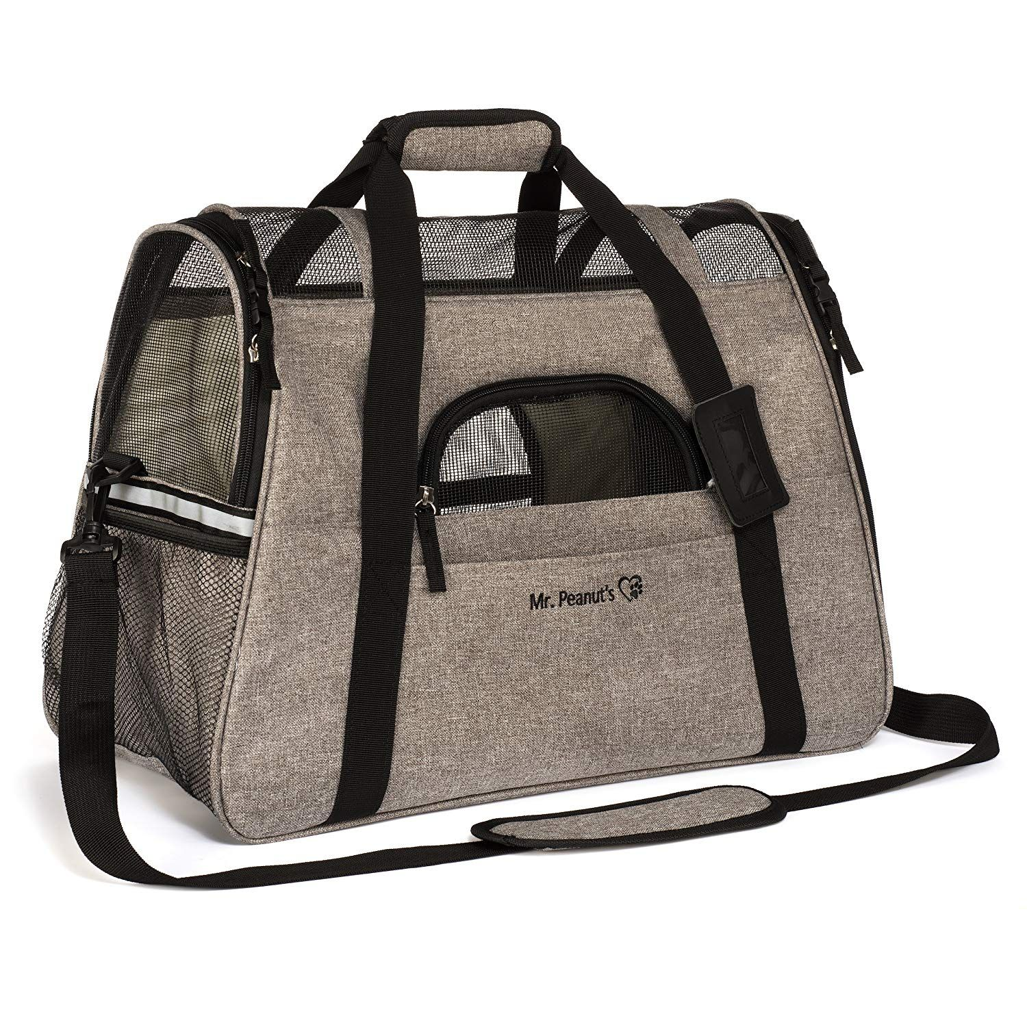 Airline Approved Pet Carrier, Tall Profile Soft Sided