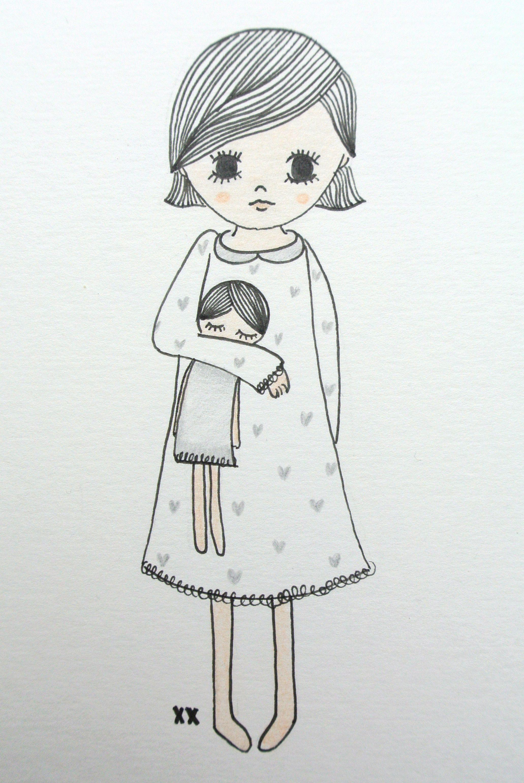 Kidroom Illustration Girls Room Illustratie Meisjeskamer Www