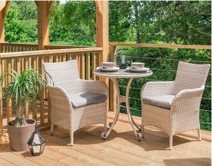 Outdoor Rattan Garden Furniture Set 2 Seater Coffee Dining