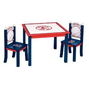 Awe Inspiring Red Sox Table Chair Chairs Boston Red Sox Mlb Red Sox Dailytribune Chair Design For Home Dailytribuneorg