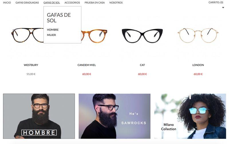 844f941ddf Gafas Graduadas y de Sol | Portfolio | Gafas graduadas, Gafas y ...