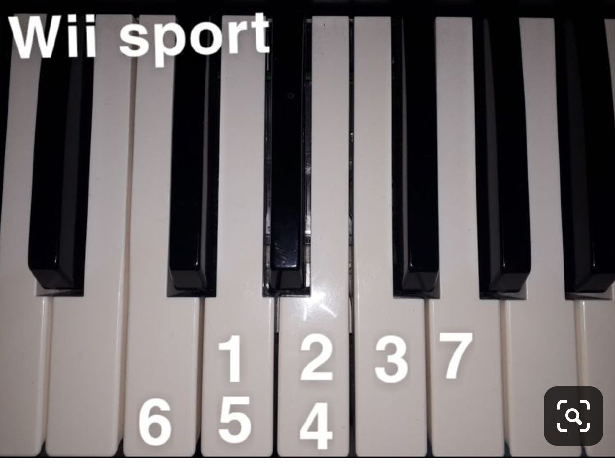 Wii Sport Song Piano Music Easy Easy Piano Songs Piano Notes Songs