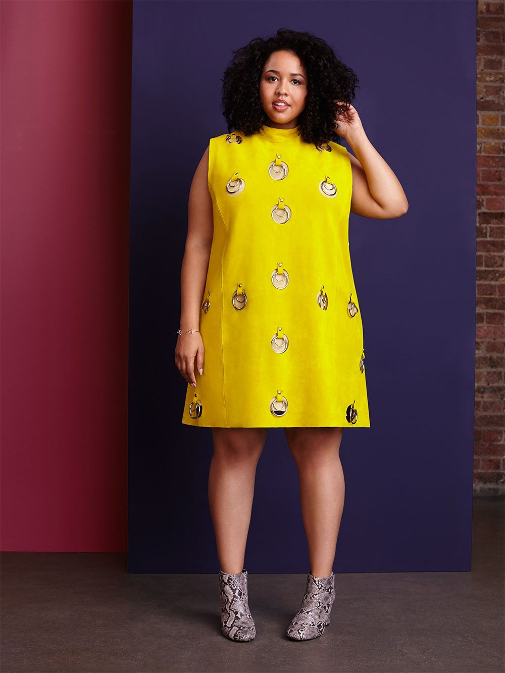 Looks - Steal: Gabi Fresh's The Real Chi Chi London Cheerily Beloved Dress Her Comments On Curvy Style, Online Shopping, and Her Swimsuits For All Collaboration video