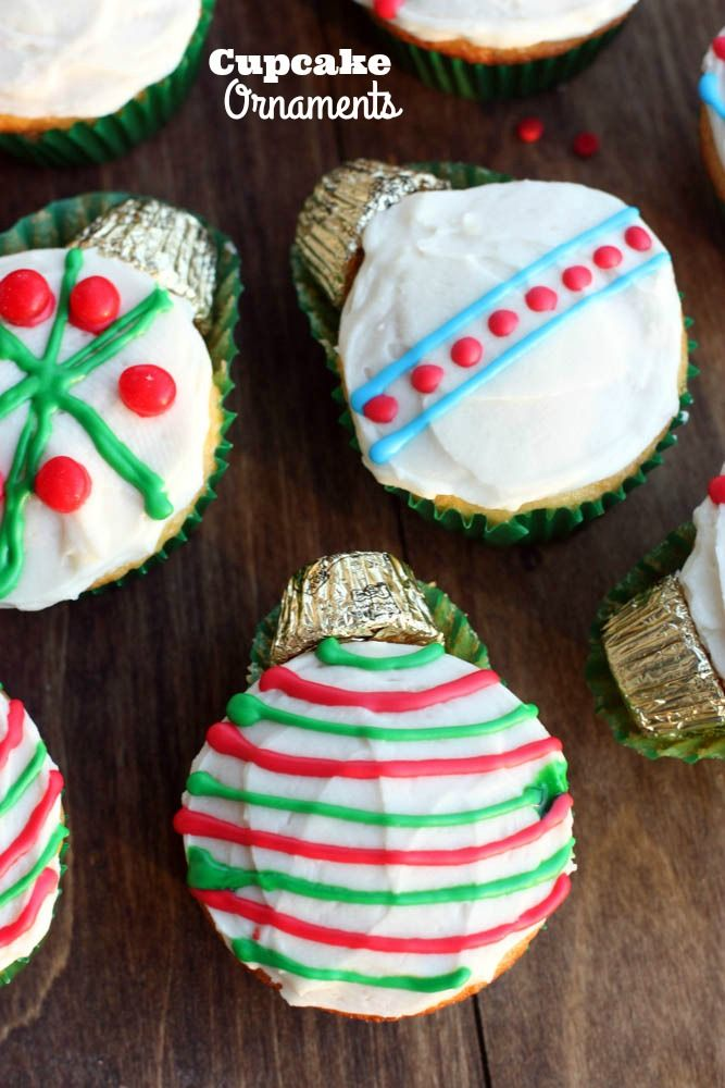 Cupcake ornaments a fun and easy christmas treat your kids will cupcake ornaments a fun and easy christmas treat your kids will enjoy making and eating solutioingenieria Gallery