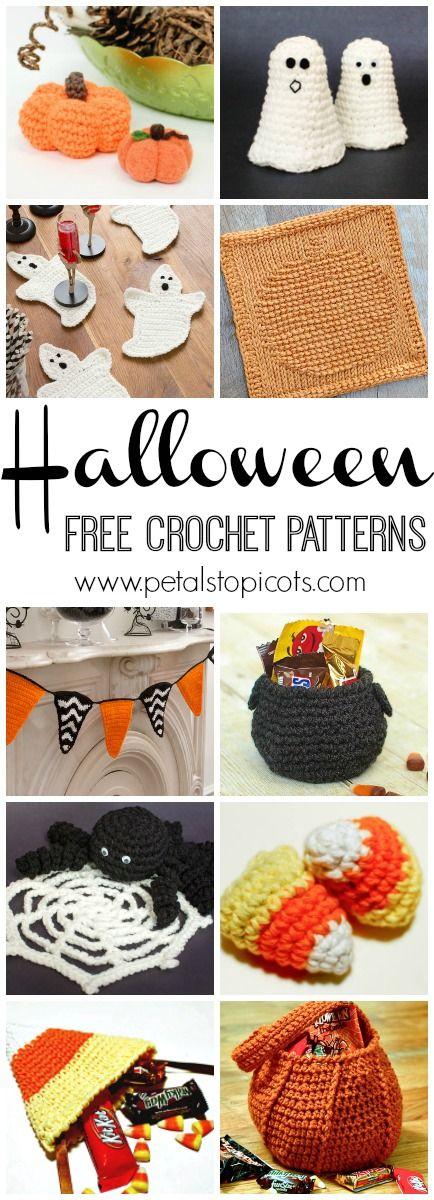Free Halloween Crochet Patterns | Halloween crochet, Spooky decor ...
