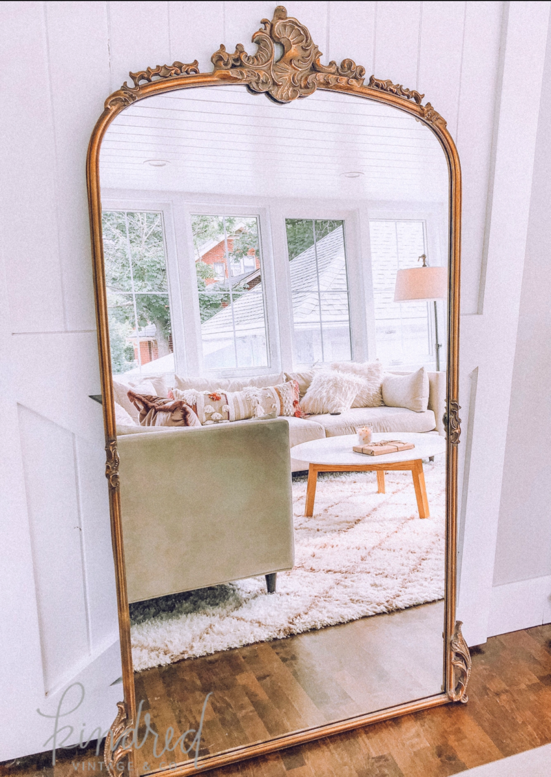 Kindred Vintage Co Modern Room Home Mirror Wall Bedroom