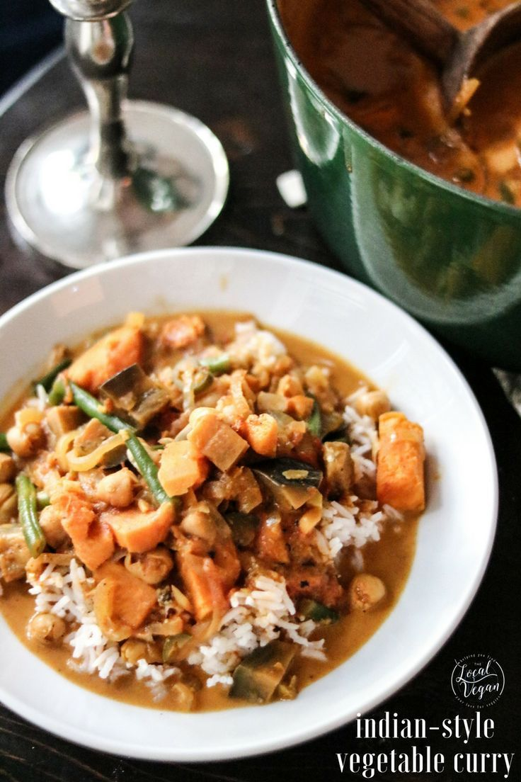 Indian style vegetable curry healthy vegan lunch dinner indian style vegetable curry healthy vegan lunch dinner recipes plantbased forumfinder Gallery