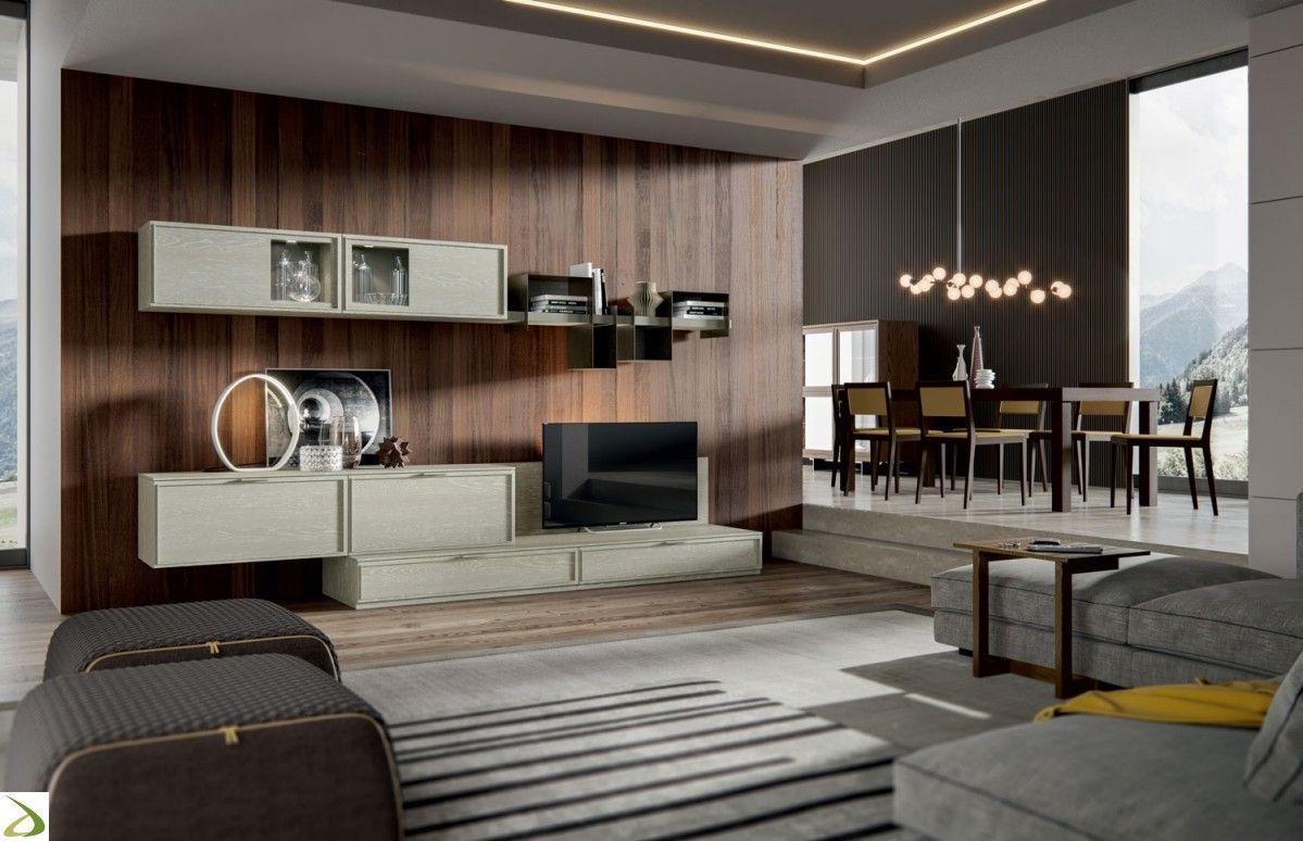 Mobile soggiorno contemporaneo Vladir | Arredo Design ...