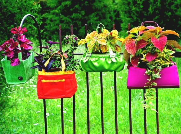 Gartendeko Gartenzaun Diy Ideen