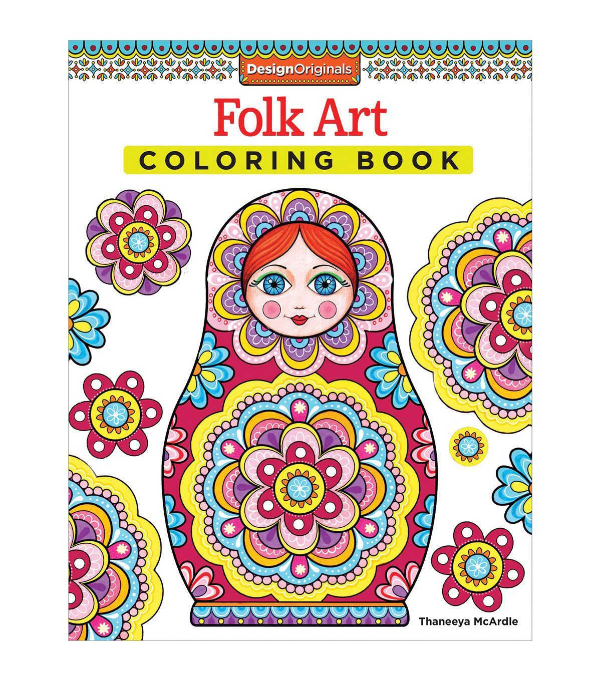 Libros De Fantasia Para Adultos Adult Coloring Book Design Originals Folk Art Diy