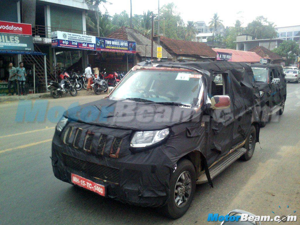 Recap mahindra u301 compact suv snapped in kerala spied