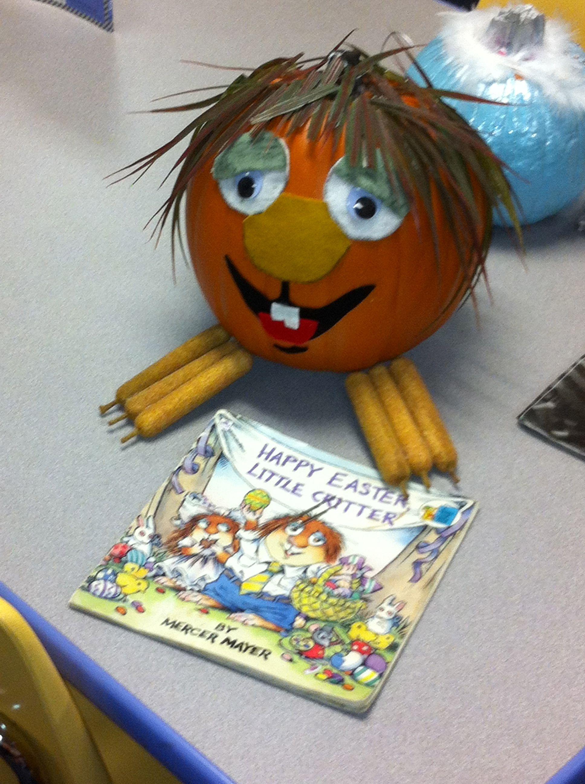Literary Character Pumpkin Little Critter Book Character Pumpkins Character Pumpkins Pumpkin Books