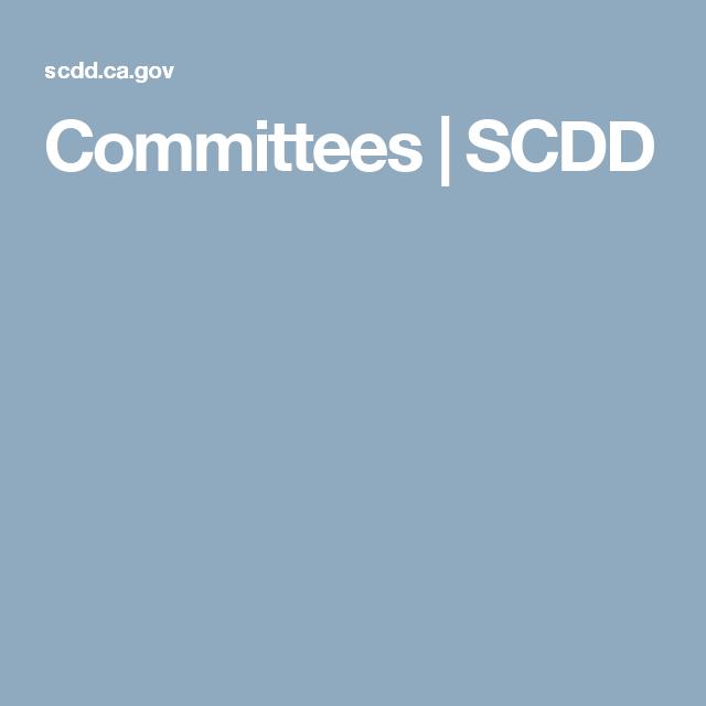 Committees   SCDD