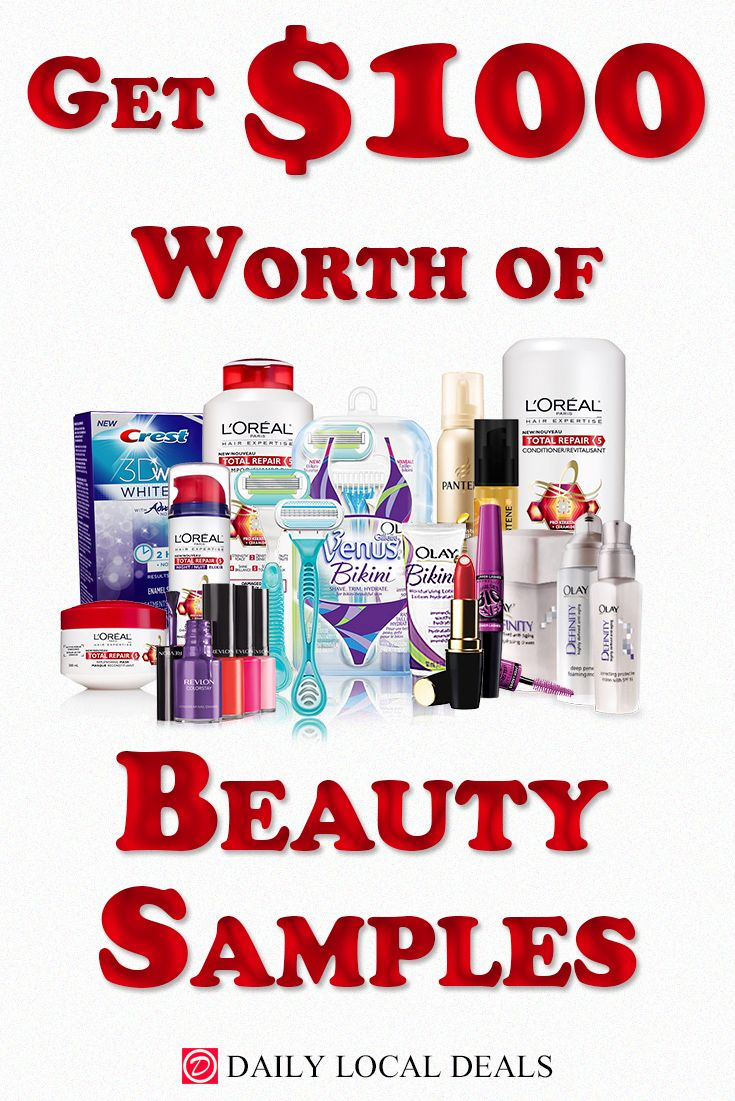 Get 100 Worth of Beauty Samples Now Beauty giveaway