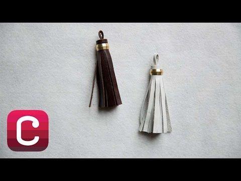 How to Make a Leather Tassel with Elke Bergeron I Creativebug