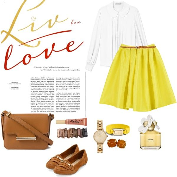 Belle's live for love by zetalini on Polyvore featuring polyvore, fashion, style, Michael Kors, Jason Wu, Olivia Burton, Coach, Givenchy, Urban Decay, Too Faced Cosmetics and Marc Jacobs
