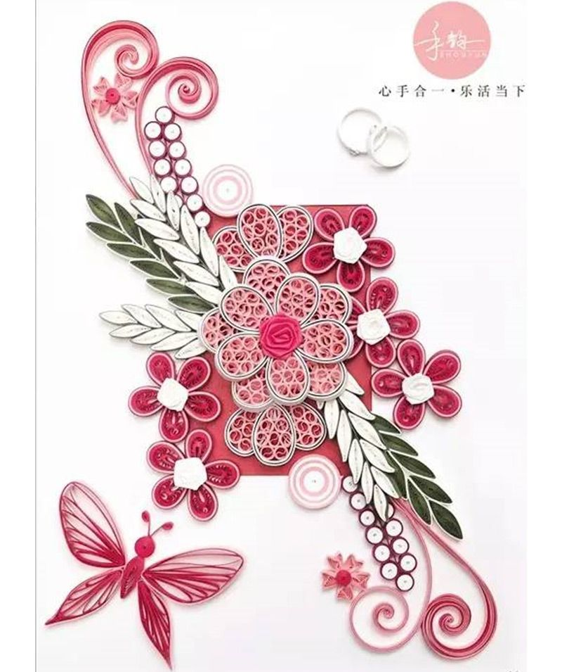 Necessary Diy Quilling Paper Patterns Quilling TemplateFree