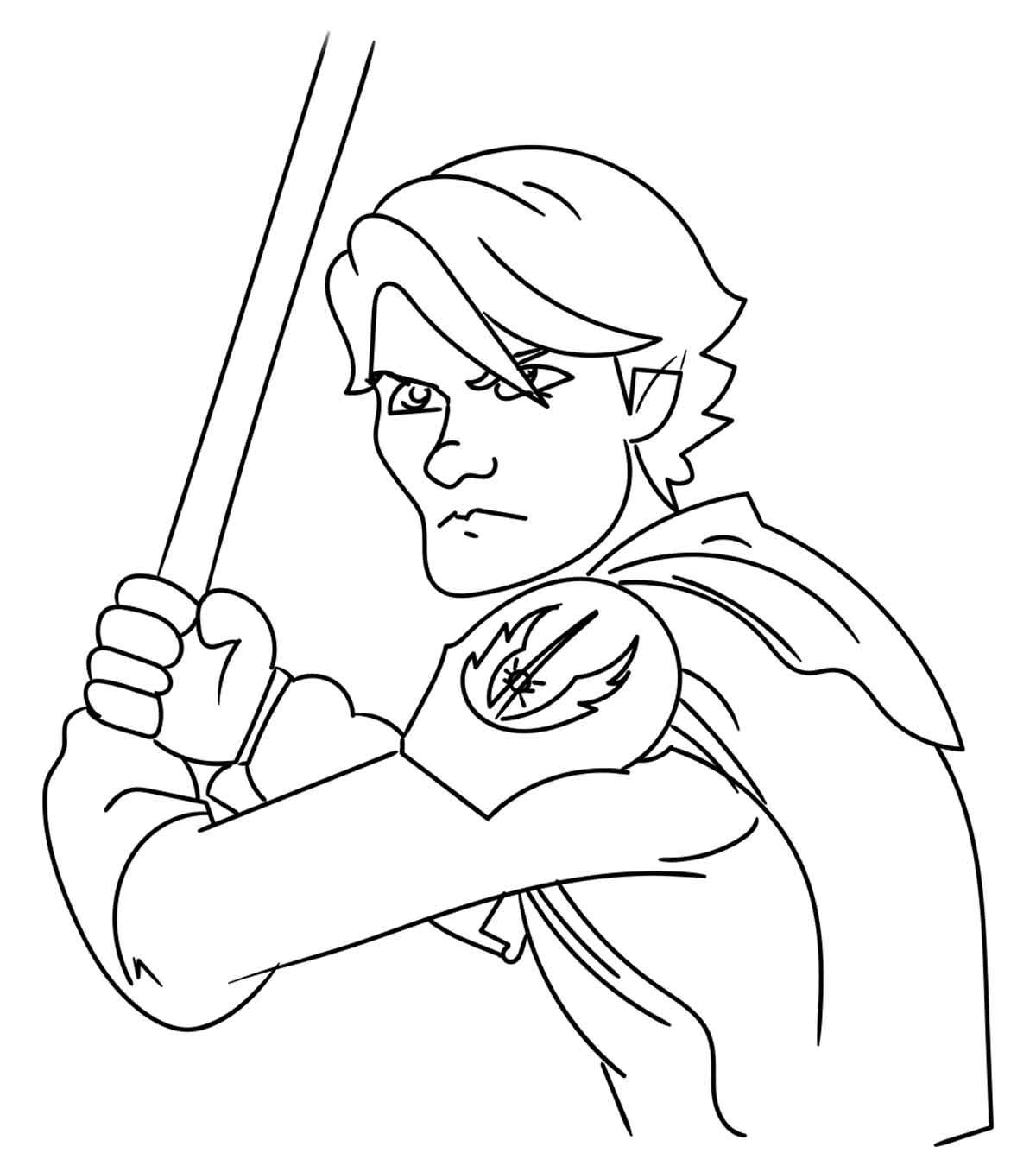Star Wars Clone Wars Coloring Pages Best Coloring Pages