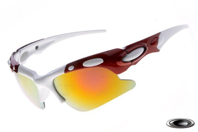 a13b29c61d0 discount Oakley M Frame White Red Frame Fire Lens sale online