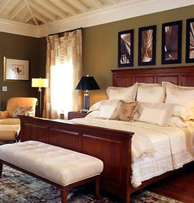 Master bedroom decor master bedrooms seaside resort for Decoracion recamaras principales